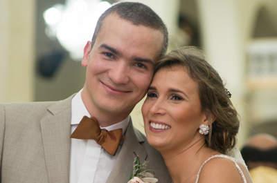 Diana y Jairo, un sonriente matrimonio de cristal