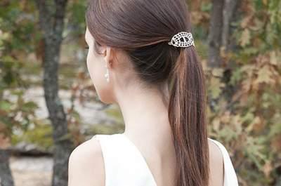 No te pierdas los 20 peinados de novia con coleta 2017. ¡Los querrás lucir todos!