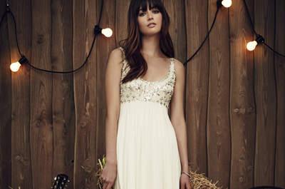 Vestidos de novia con pedrería 2017: Lo mejor del glamour a tus pies