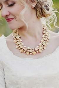 Maxi colares para noivas 2016