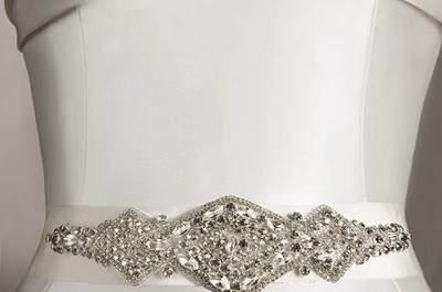 Taillenbänder aus der Pronovias-Kollektion 2013