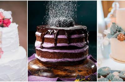 Bolos de casamento: 49 propostas LINDAS, deliciosas e de todos os estilos!