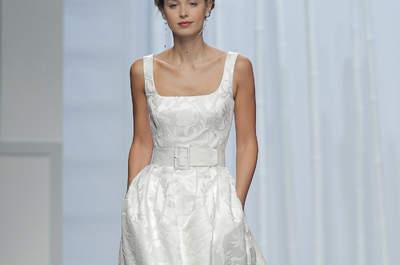 Os mais espetaculares vestidos de noiva da Rosa Clará para 2016