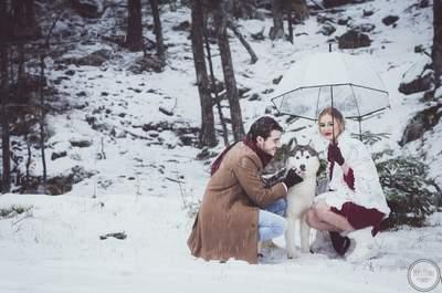 Naturel, minimaliste et glamour : Laissez-vous envoûter par ce shooting mariage scandinave