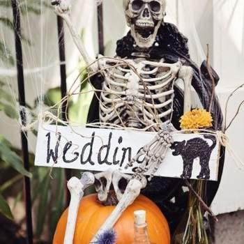 Idées déco pour un Hallowedding : un mariage aux couleurs d'Halloween...