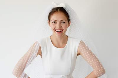 Entdecken Sie 27 traumhafte Brautschleier 2017, die das Hochzeitsstyling erst perfekt machen
