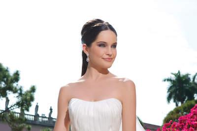 Vestidos de novia Sweetheart 2015: Lujo y elegancia exótica