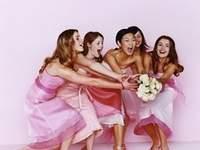 Mariage et tradition du lancer de bouquet