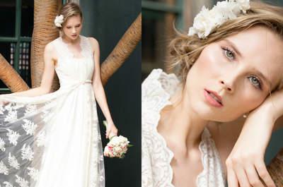 Vestidos de noiva românticos e delicados de Karen Rodrigues: feitos para sonhar!