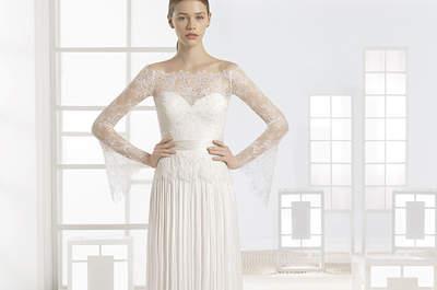 Bruidsjurken met kant voor de bruid in 2017