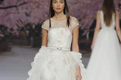 Vestidos de novia Inmaculada Garcia 2017: ligereza en estado puro