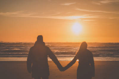 Anne e Diogo: a única exigência era o mar!