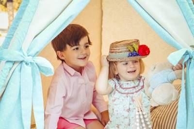 Cómo decorar la mesa de los niños en tu boda: ideas muy divertidas