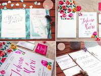 Partes de matrimonio con lindos diseños en Lima