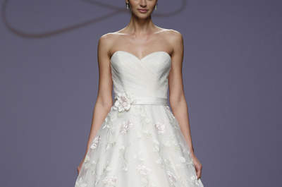 Justin Alexander Spring 2016 Bridal Collection Catwalk