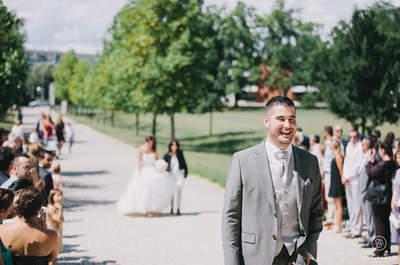 Les 32 plus belles photos du moment magique où le marié découvre sa future femme !