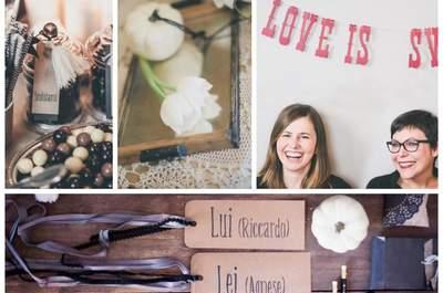 Save the Date: The Love Affair 2015. Benvenuti al paradiso del matrimonio creativo!