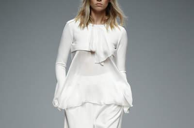 44 vestidos de novia de dos piezas espectaculares para que luzcas en tu boda