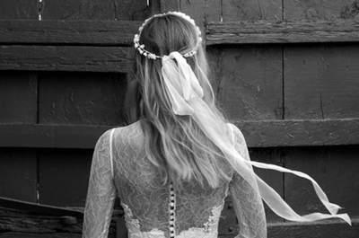 Vestidos de noiva Jesús Peiró 2015 coleção Perfume: estilismo com poesia