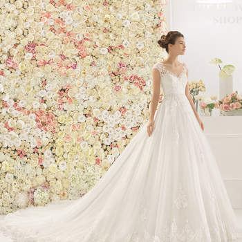Robes de mariée 2017 coupe princesse : 60 créations que vous ne devez pas manquer !