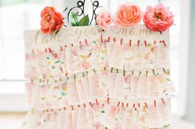 Craquez pour ces superbes idées DIY pour décorer votre mariage en 2016 !