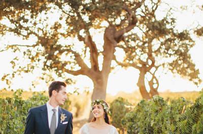 Les secrets d'une mariée élégante au style méditerranéen
