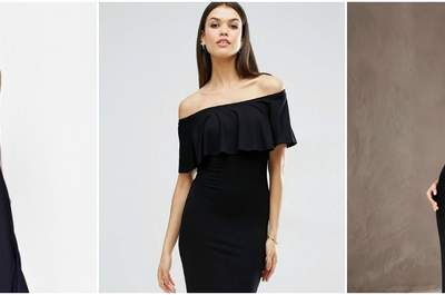 Black Party Dresses for the Chic Wedding Guest: 2017