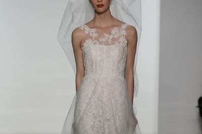 Inspire-se nos mais românticos vestidos de noiva Amsale 2015 na New York Bridal Week