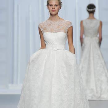 50 vestidos de novia corte princesa 2016: Diseños para novias soñadoras