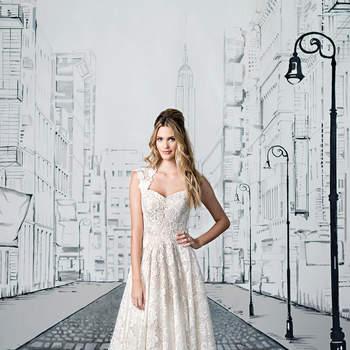 Neue Brautkleider 2017 von Justin Alexander: feinste Entwürfe mit Wow-Effekt!