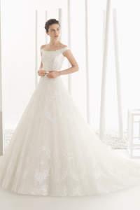 Vestidos de novia 2016 con línea A