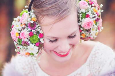 En 2016 on mise sur un mariage doux mais un peu fou avec ce shooting d'inspiration!