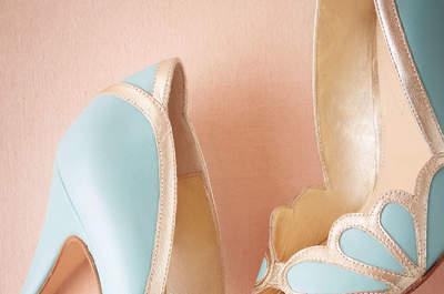 Scarpe da sposa colorate 2017…e che il tuo outfit nuziale prenda vita!