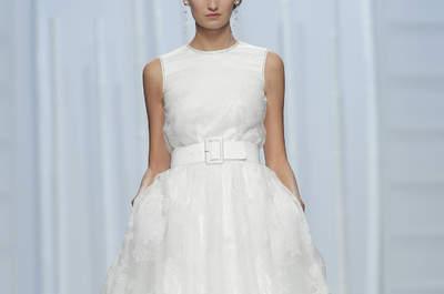 Entdecken Sie mit uns die 30 schönsten Brautkleider der Barcelona Bridal Week 2015!