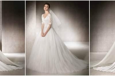 Los 80 mejores vestidos de novia St. Patrick 2017. ¡Querrás probártelos todos!