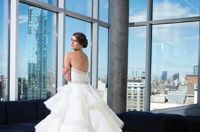 A colecção de vestidos de noiva perfeitos Justin Alexander 2014