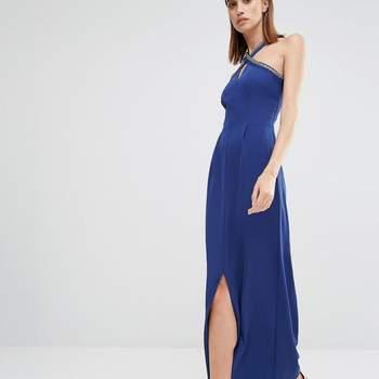 Vestidos de fiesta largos en color azul: 41 opciones mega trendy