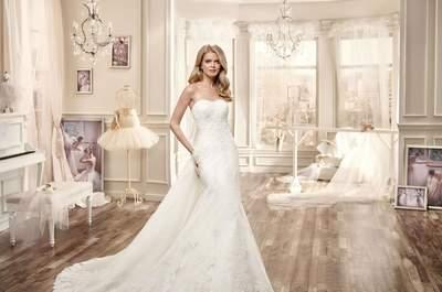 Vestidos de novia strapless 2016: Nunca pasarán de moda