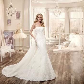 Escote palabra de honor para vestidos de novia 2016: Nunca pasa de moda