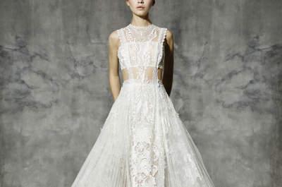 Robes de mariée YolanCris 2016 : D'élégantes silhouettes aux broderies et styles inimitables
