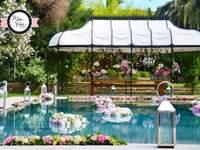 Des fleurs et des couleurs, Miss Rose réalise des créations florales d'exception pour votre mariage