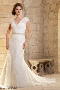Brautkleider für die mollige Frau 2016