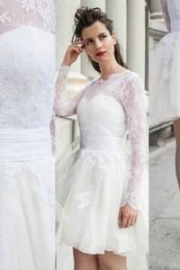 Vestidos de noiva curtos 2015