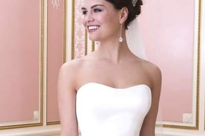 Cinturones de novia 2017: adorna tu vestido con un accesorio de lujo