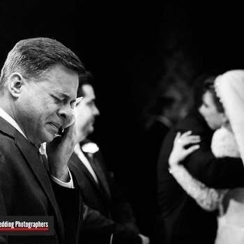É o dia deles! 50 fotos de pais de noivas e noivos que são pura emoção!