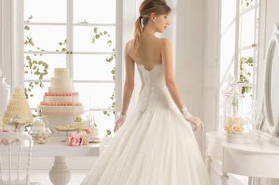 Mariée classique ou glamour ? La coupe princesse s'adapte à tous les styles !