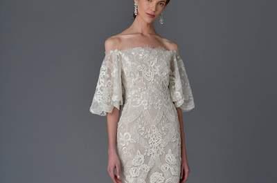 Vestidos de novia Marchesa 2017: sofisticación y elegancia en estado puro