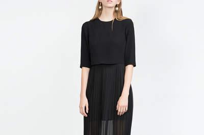 Vestidos de fiesta negros 2016. ¡Una apuesta segura!