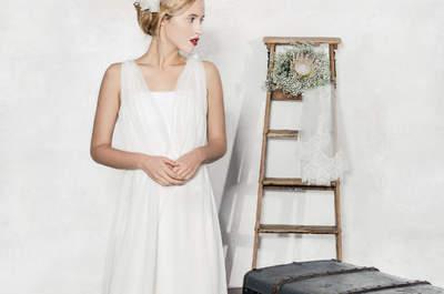 Die neue Brautmoden-Kollektion 2016 von La Robe Marie: Subtile Eleganz trifft auf verführerische Romantik