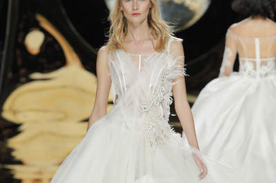 Vestidos de novia cortos 2017: ¡45 diseños encantadores!